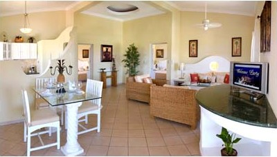 Vacations in Paradise 2 Bedroom Penthouse/Apartment Accommodations in the Dominican Republic